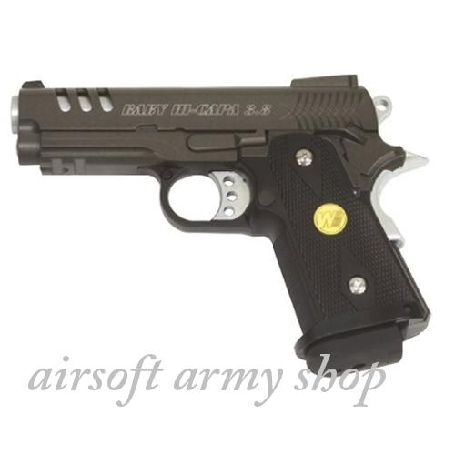 508cbca8b Airsoft plynová zbraň WE Hi-GAPA 3,8 kov